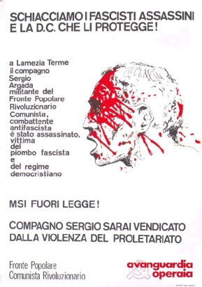 1974 - AVANGUARDIA OPERAIA