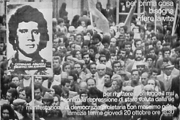 1976 - MANIFESTAZIONE DI DP