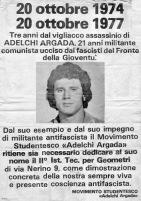 1977 - SCUOLA DI MILANO