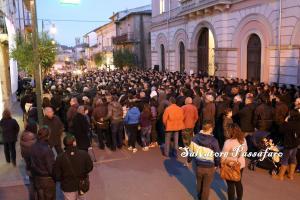 presidio al consiglio comunale di Borgia 16.01.2014_1